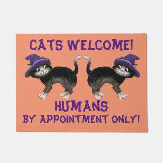 Halloween Cats Doormat
