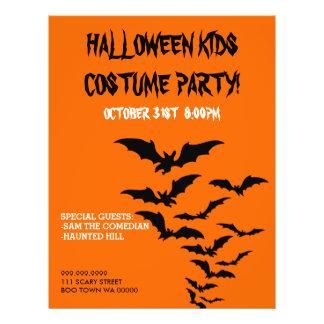 Halloween Costume Kids Party Announcement Flyer