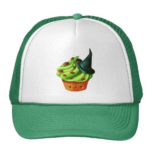 Halloween Cupcake full of tiny spiders Hat