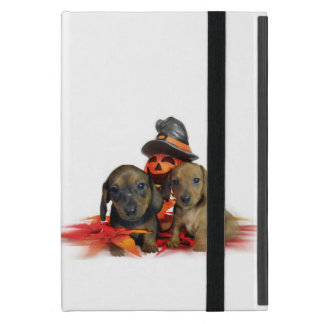 Halloween Dachshund puppies iPad Mini Case