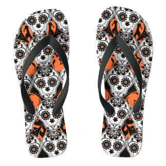 Halloween | Day of the Dead Jandals
