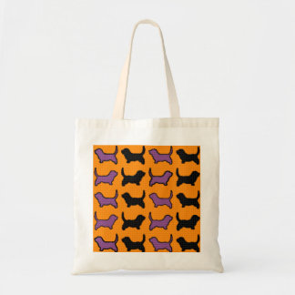 Halloween Dogs Tote Tote Bags