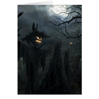 Halloween Field of Death Card