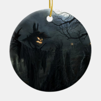 Halloween Field of Death Christmas Ornament