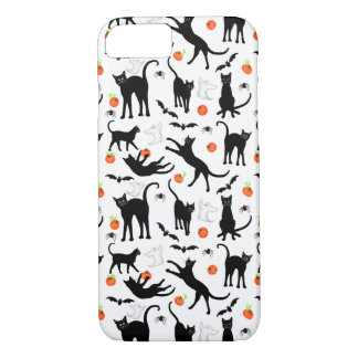 Halloween Friendly Black Cats iPhone 7 Case