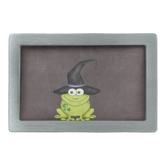 Halloween Frog Rectangular Belt Buckle