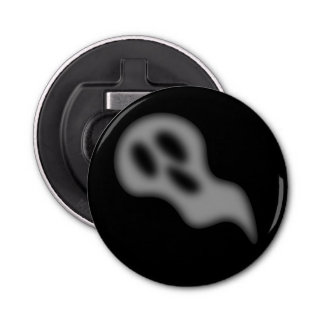 Halloween Ghost Button Bottle Opener