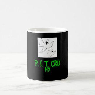 halloween-ghost-template, P. I. T. CRU, NY Coffee Mugs