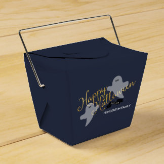 Halloween Ghosties Take out box Wedding Favour Box