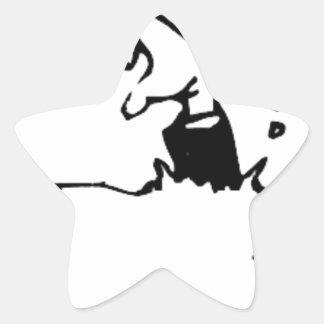 Halloween Grave Star Sticker