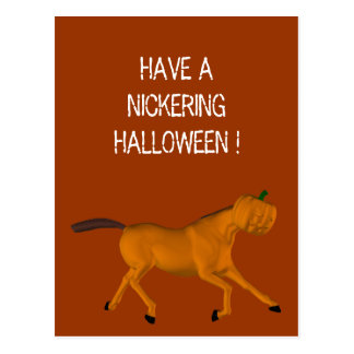 Halloween Horse Post Cards