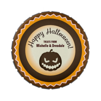 Halloween Jack-O-Lantern Trick or Treat Giveaway Jelly Belly Candy Tin