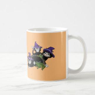 Halloween Magic Cats Coffee Mug