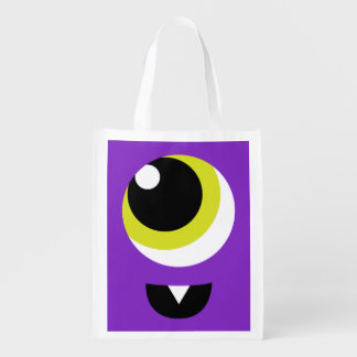 Halloween Monster Trick or Treat Reusable Bag