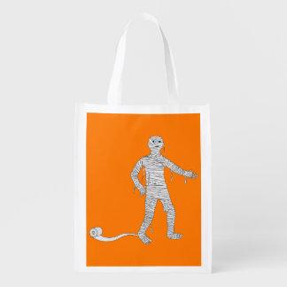 Halloween Mummy Trick or Treat Reusable Bag