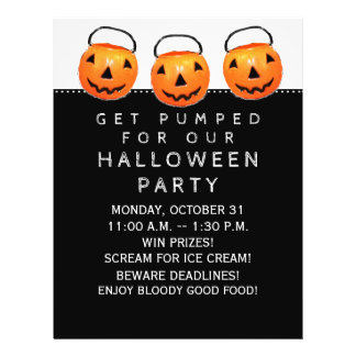 Halloween Office Party Flyer