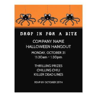 Halloween Office Party Invitation Flyer