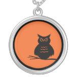 Halloween Owl Pendants