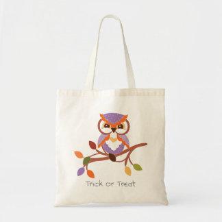 Halloween Owl Trick or Treat Bag