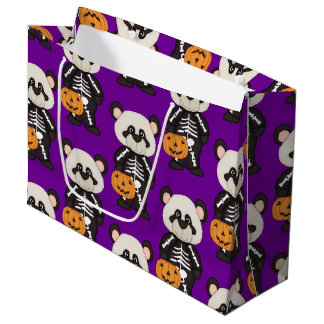 Halloween Panda, Gift Bag - Large, Glossy