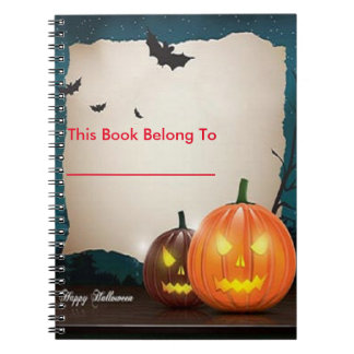 Halloween Photo Notebook 1