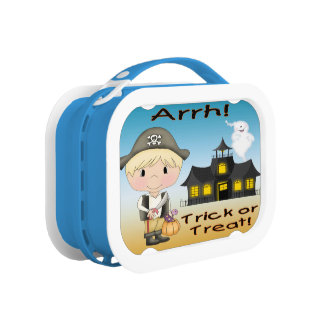Halloween Pirate Boy Lunch Box