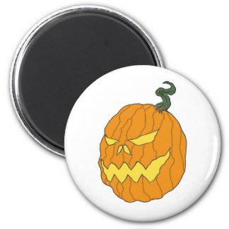 Halloween Pumpkin Head Magnet
