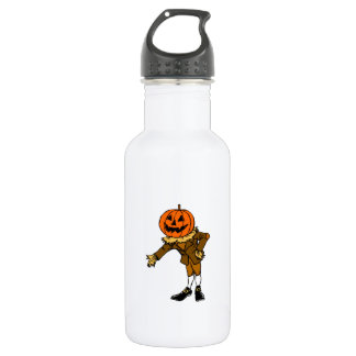 Halloween Pumpkin Head 532 Ml Water Bottle
