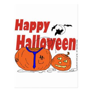 HALLOWEEN pumpkin lost his head Postcards