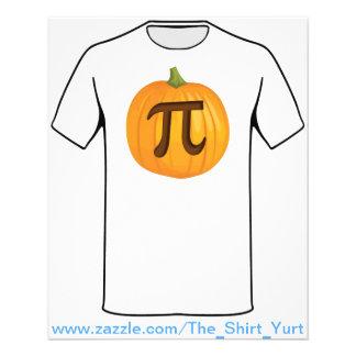 Halloween Pumpkin Pie Pi Flyer