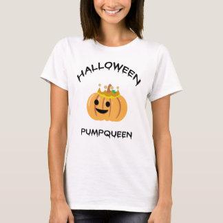 Halloween Pumpqueen T Shirt