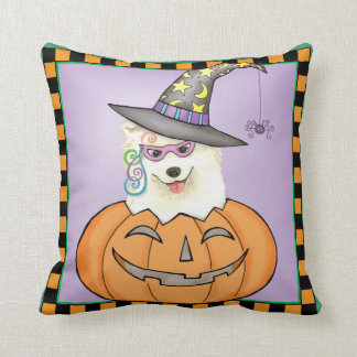 Halloween Samoyed Cushion