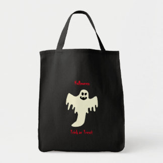 Halloween Scary Ghost - Trick or Treat Tote Bag