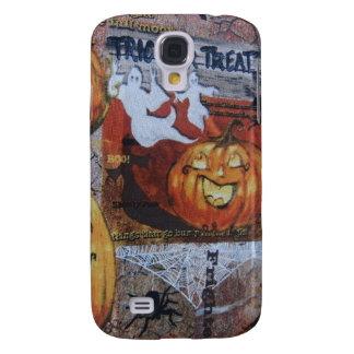 Halloween Scene Galaxy S4 Case