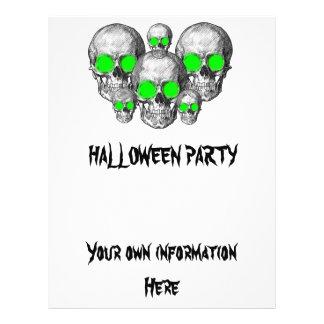 Halloween Skeletons Flyer