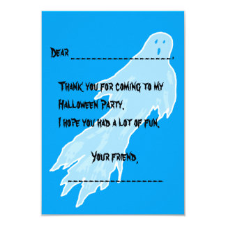 Halloween Thank You Note Cards From Kids 9 Cm X 13 Cm Invitation Card