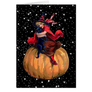 Halloween The Final Frontier Greeting Cards