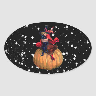 Halloween: The Final Frontier Oval Sticker