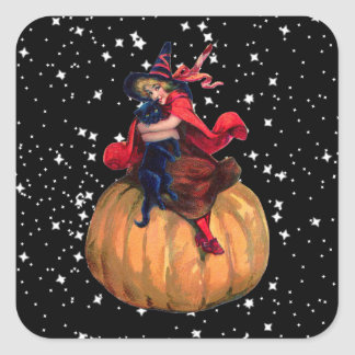 Halloween: The Final Frontier Square Stickers