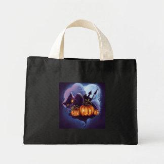 Halloween! - Tiny Tote Handbag Great For Treats Canvas Bags