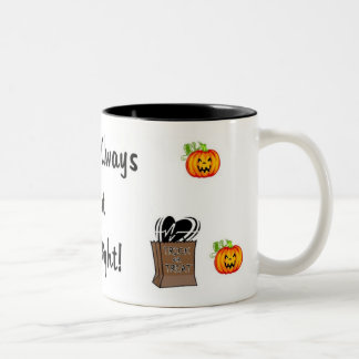 Halloween Treat For Nurses Mug