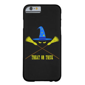 Halloween Treat Or Trick Black Barely There iPhone 6 Case