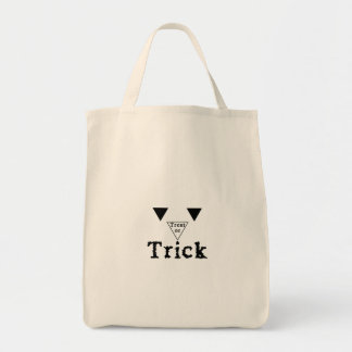 Halloween - Treat or trick Grocery Tote Bag