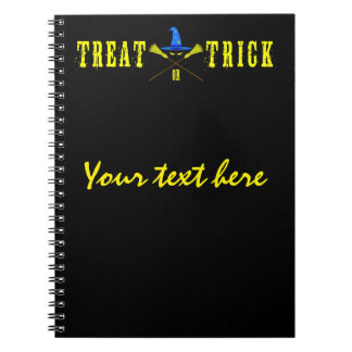 Halloween Treat Or Trick Note Books