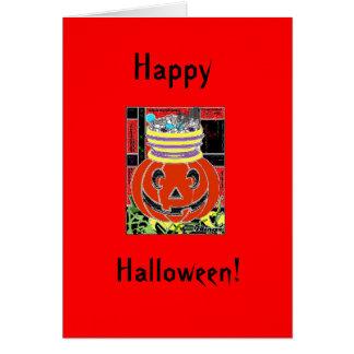 Halloween Treats Greeting Card