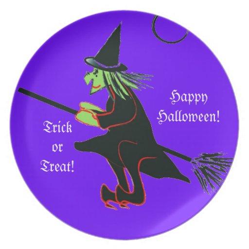 Halloween Treats Plate