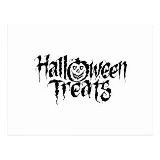 Halloween Treats Post Card