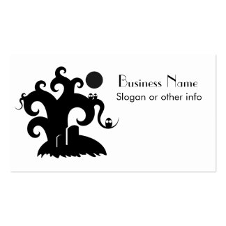 Halloween Tree Business Cards