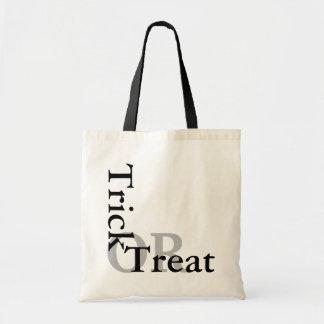 HALLOWEEN TRICK OR TREAT BAG BUDGET TOTE BAG