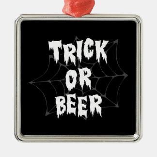 Halloween Trick Or Treat Beer Christmas Tree Ornament